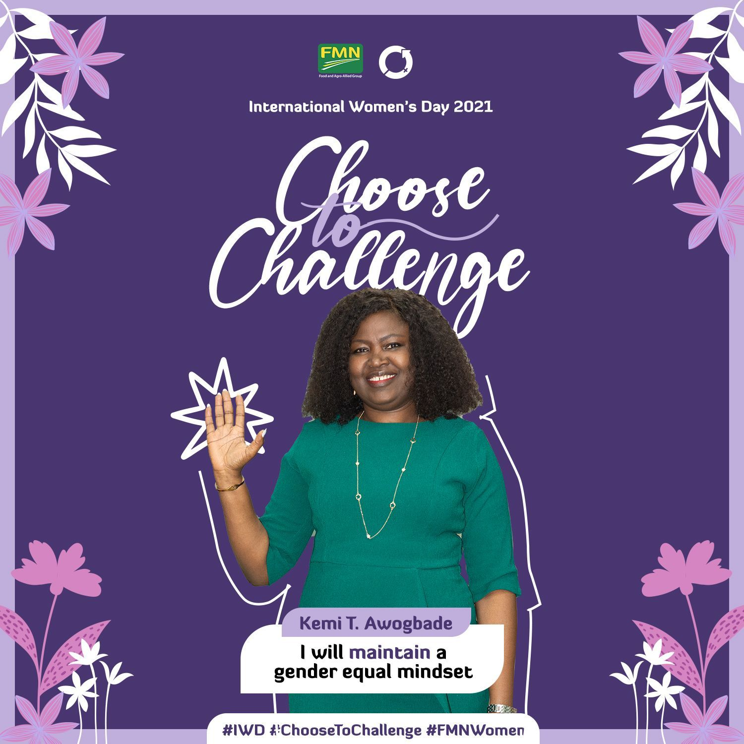 #CHOOSETOCHALLENGE FLOUR MILLS NIGERIA TACKLES BARRIERS TO CORPORATE  INCLUSION FOR INTERNATIONAL WOMEN'S DAY